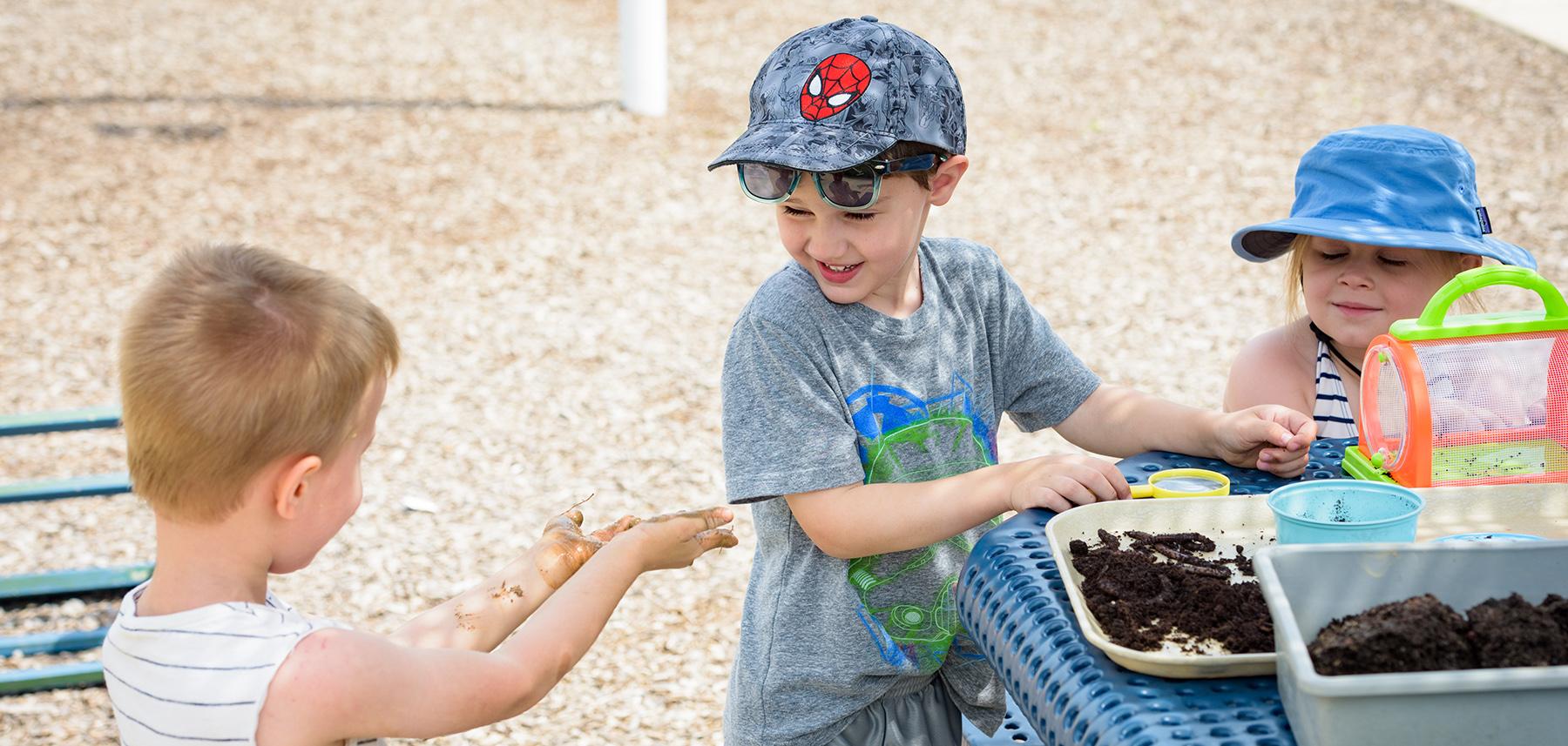 Students at play